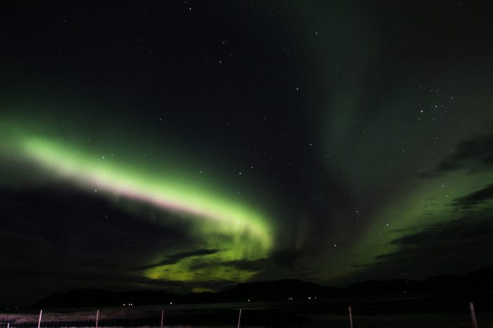 Northern Lights Hunt in a Mini Bus