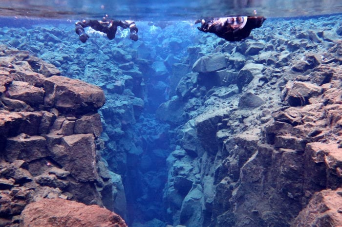 Snorkeling Between the Tectonic Plates