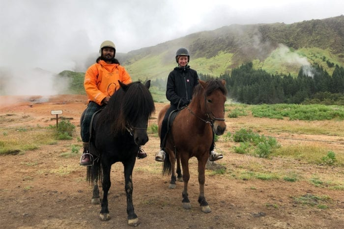 Horseback Riding & Hot Springs