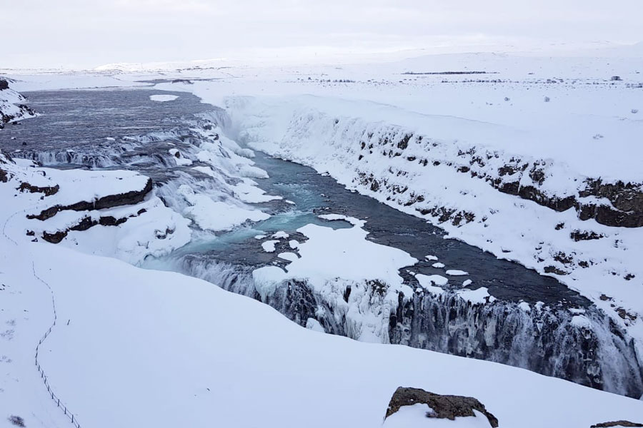 Gullfoss Waterfall and Iceland's first environmentalist